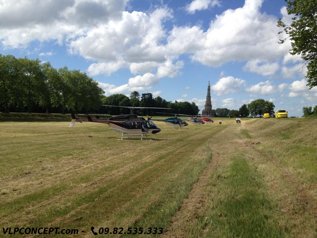 hélicoptère val de loire